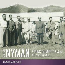 MNRCD141. NYMAN String Quartets Nos 4 & 5