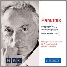 HTGCD266. PANUFNIK Symphony No 9. Bassoon Concerto