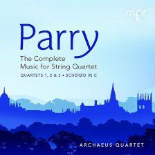 MPR102. PARRY String Quartets Nos 1-3. Scherzo (Archaeus Quartet)