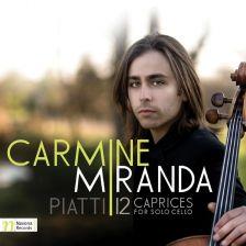 NV5972. PIATTI 12 Caprices for Solo Cello