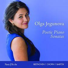 MMC114. Olga Jegunova: Poetic Piano Sonatas