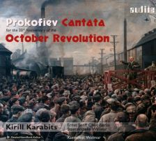 AUDITE97 754. PROKOFIEV Cantata for the 20th Anniversary of the October Revolution