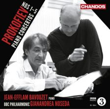 PROKOFIEV Piano Concertos Nos. 1 - 5 (Complete). Jean-Efflam Bavouzet