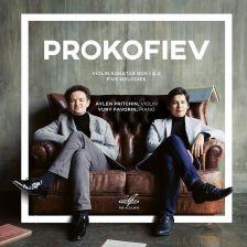 MELCD10 02524. PROKOFIEV Violin Sonatas (Pritchin & Favorin)