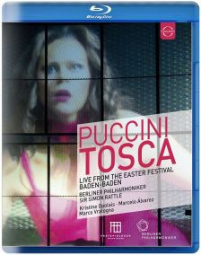 206 4174. PUCCINI Tosca (Rattle)