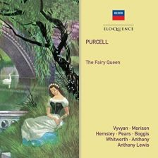 482 7449. PURCELL The Fairy Queen (Lewis)