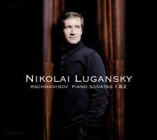 AM208 RACHMANINOV Piano Sonatas Nos 1, Op 28 & No 2, Op 36. Nikolai Lugansky