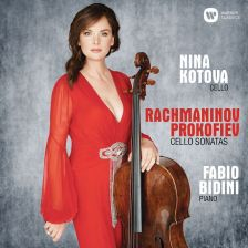 90295 92460. RACHMANINOV; PROKOFIEV Cello Sonatas