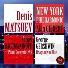 88765 49260-2. GERSHWIN Rhapsody in Blue RACHMANINOV Piano Concerto No 2. Denis Matsuev