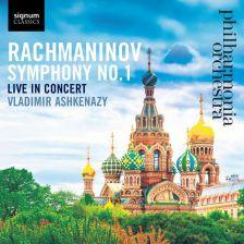 SIGCD484. RACHMANINOV Symphony No 1 (Ashkenazy)