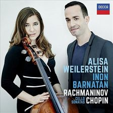478 8416. RACHMANINOV; CHOPIN Cello Sonatas