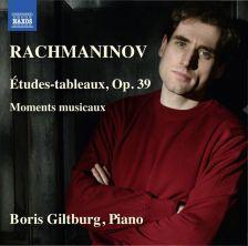 8 573469. RACHMANINOV Etudes-tableaux. Moments musicaux