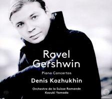 PTC 5186 620. GERSHWIN; RAVEL Piano Concertos (Kozhukhin)
