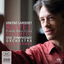 ARS38178. RAVEL Piano Concertos SCHMITT Ombres