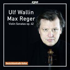 CPO777 762-2. REGER Solo Violin Sonatas