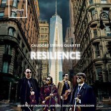 SIGCD551. Calidore String Quartet: Resilience