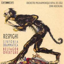 BIS2210. RESPIGHI Sinfonia Drammatica
