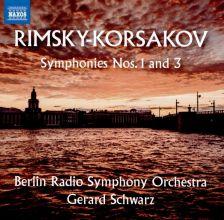 8 573581. RIMSKY-KORSAKOV Symphonies Nos 1 & 3