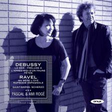 ONYX4117. Pascal & Ami Rogé play Debussy & Ravel