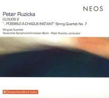 NEOS11808. RUZICKA Clouds 2. String Quartet No 7