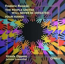 CDR90000158. RZEWSKI The People United Will Never Be Defeated!