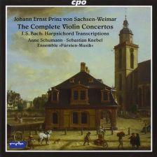 CPO777 998-2. SACHSEN-WEIMAR Complete Violin Concertos