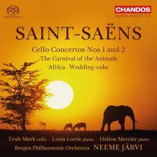 CHSA5162. SAINT-SAËNS Cello Concertos