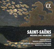 ALPHA273. SAINT-SAËNS Mélodies avec orchestre