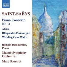 8 573477. SAINT-SAËNS Piano Concerto No 3