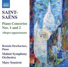 8 573476. SAINT-SAËNS Piano Concertos Nos 1 & 2