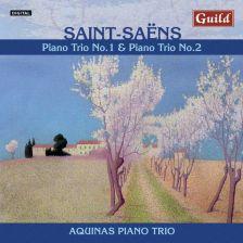 GMCD7408. SAINT-SAËNS Piano Trios Nos 1 & 2