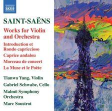 8 573411. SAINT-SAËNS Works for Violin and Piano