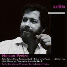 AUDITE95.742. SAINT-SAËNS Piano Concerto No 2 (Nelson Freire)