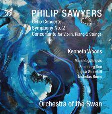 NI6281. SAWYERS Cello Concerto. Symphony No 2