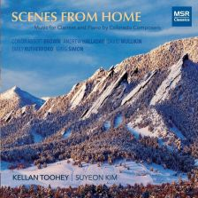 MS1656. Scenes From Home: Music for clarinet and piano by Colorado composers