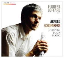 MIR191. SCHOENBERG Works for piano. Florent Boffard