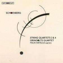 BIS2267. SCHOENBERG String Quartets Nos 2 & 4