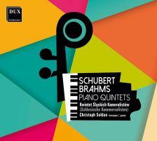 DUX1426. SCHUBERT Trout Quintet BRAHMS Piano Quintet