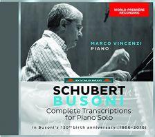 CDS7712. SCHUBERT Complete Busoni Transcriptions