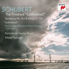 "88985 43138-2. SCHUBERT 'The Finished ""Unfinished""': Symphony No 8, D759 (reconstr Venzago)"