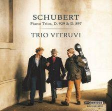 BRIDGE9510. SCHUBERT Piano Trios (Trio Vitruvi)