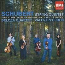 SCHUBERT String Quintet. Quartet in G. Quartet in D Minor