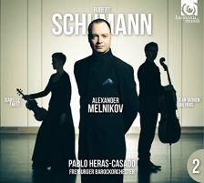 HMC90 2198. SCHUMANN Piano Concerto. Piano Trio No 2