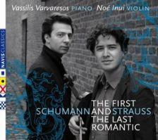 NC15004. SCHUMANN; STRAUSS Violin Sonatas