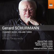TOCC0336. SCHURMANN Chamber Music Vol 3