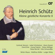83 271. SCHÜTZ Kleiner geistlichen Concerten II