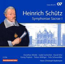 83 273. SCHÜTZ Symphonie Sacrae I
