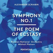 PTC5186 514. SCRIABIN Symphonies Nos 1 & 4