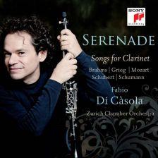 887654498724. Serenade: Songs for Clarinet. Fabio di Casola