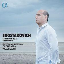 ALPHA389. SHOSTAKOVICH Symphony No 6. Sinfonietta (Järvi)